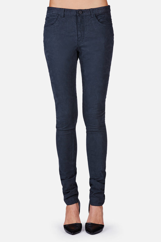 R.B. Skinny 5-Pocket Pant - Navy
