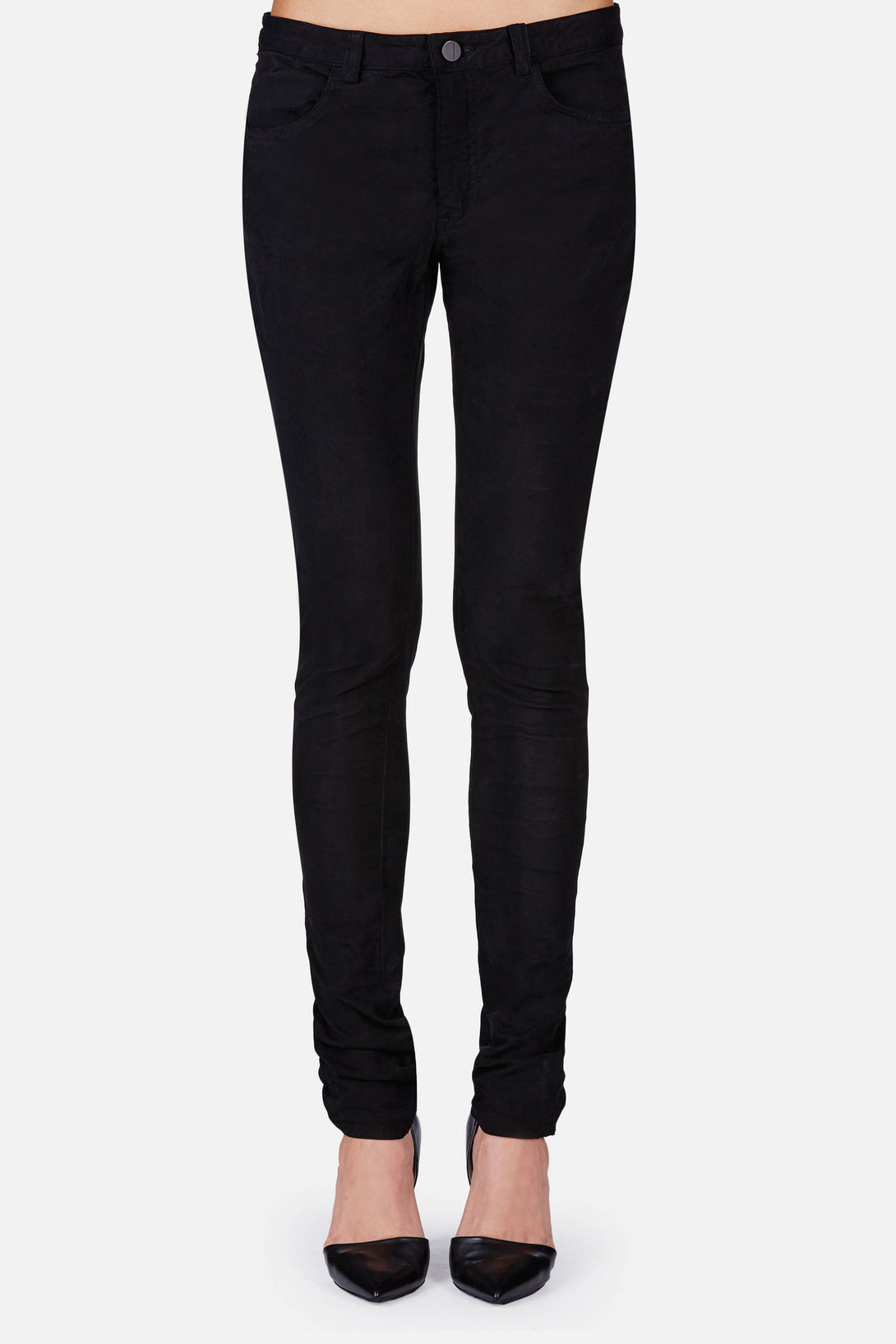 R.B. Skinny 5-Pocket Pant - Black