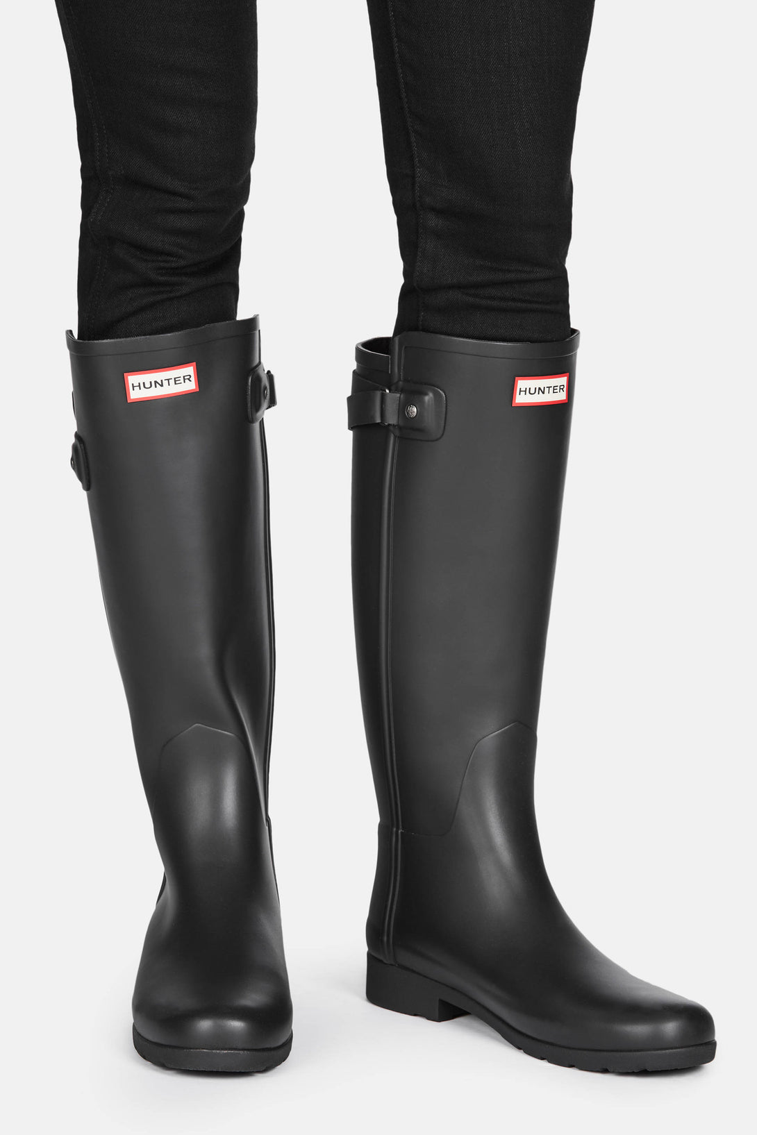 Hunter Original Refined Back Strap Rain Boot
