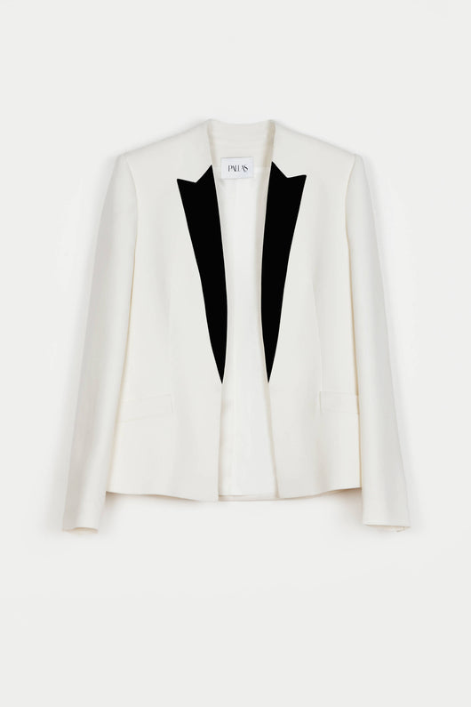 Alcyone Shadow Jacket - Blanc/Marine