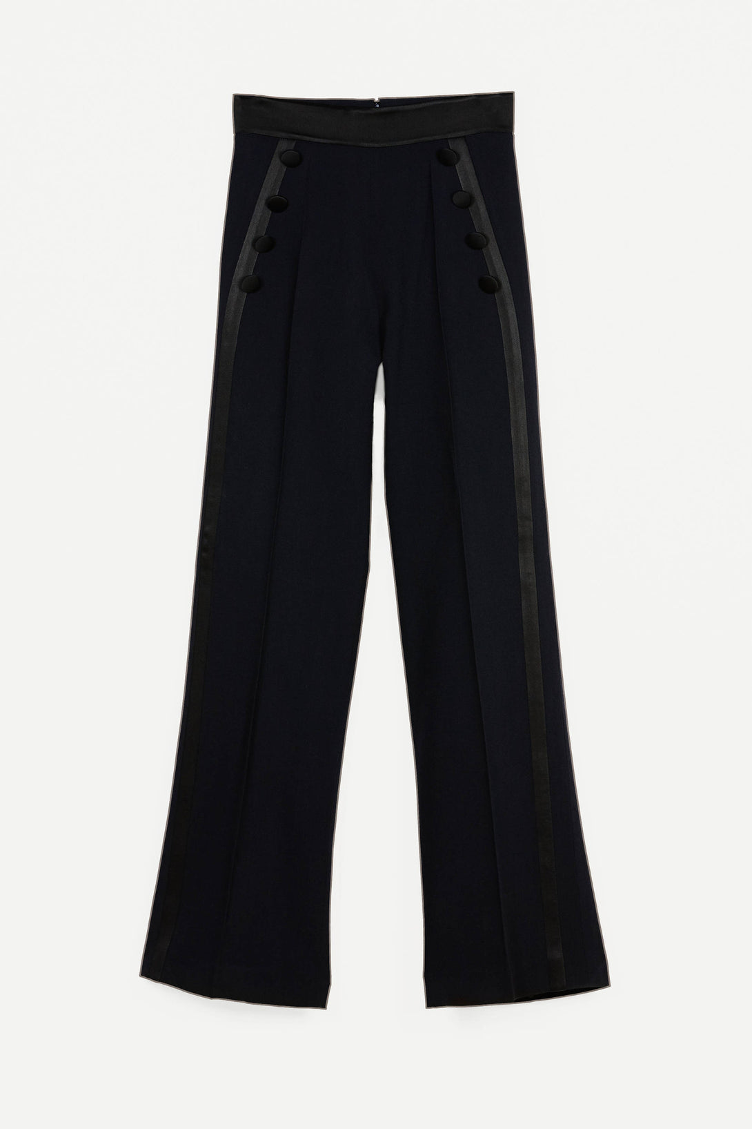 Sirah Sailor Pants - Marine/Noir
