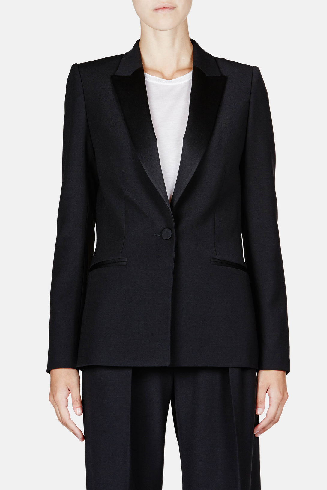 Apollon One Button Jacket - Noir