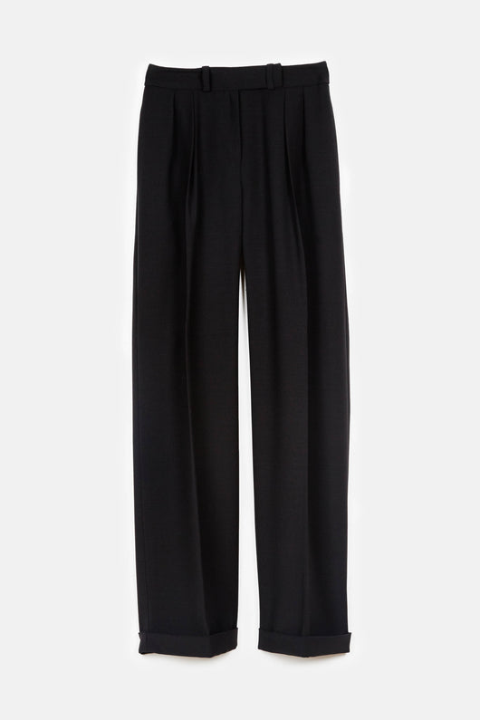 Janus Pleated Pant - Noir