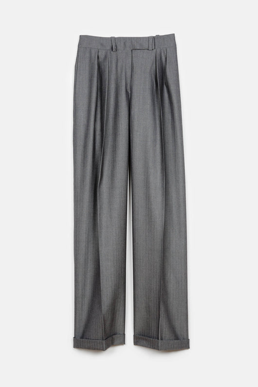 Janus Pleated Pant - Clair