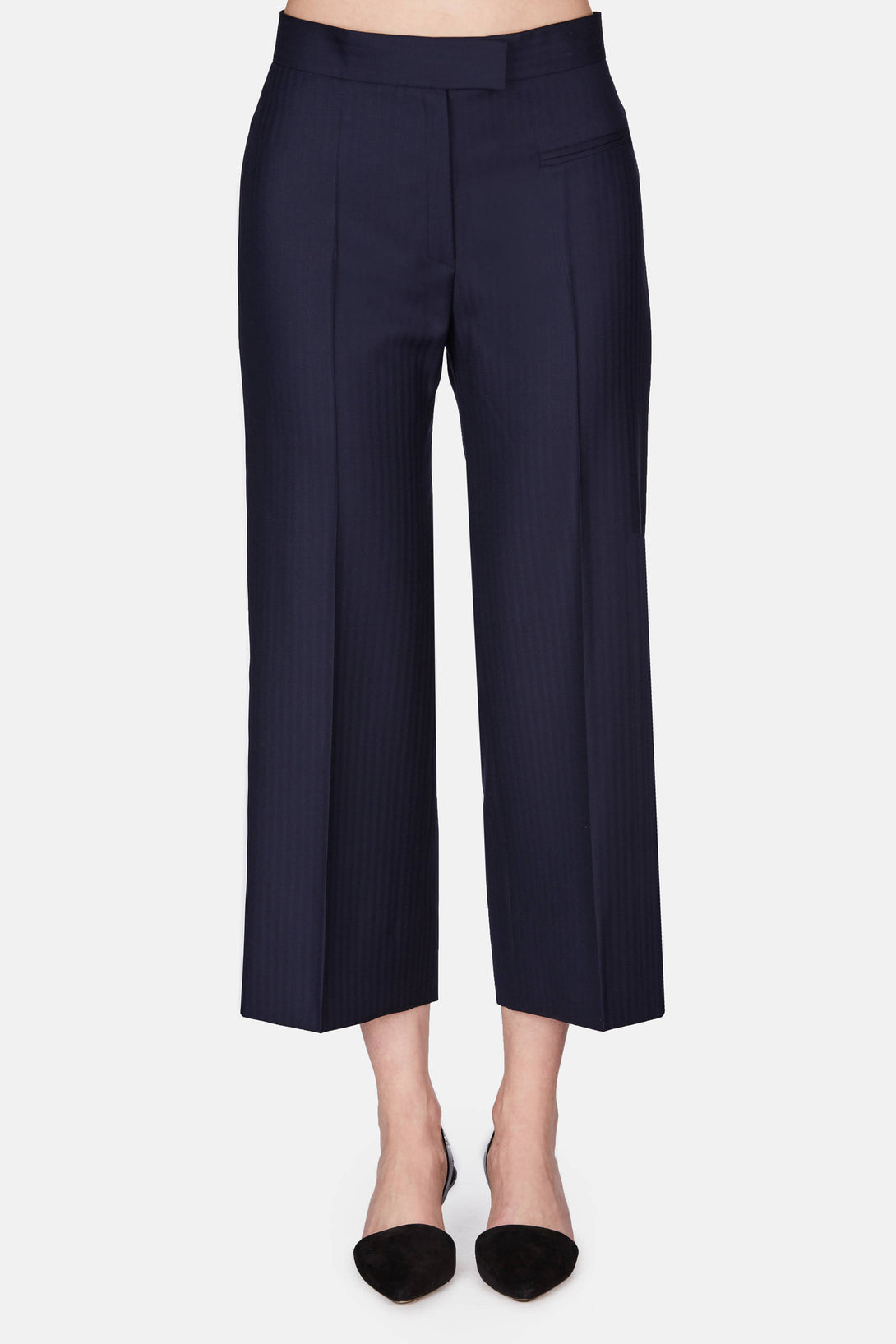 Thetis Cropped Pant - Marine