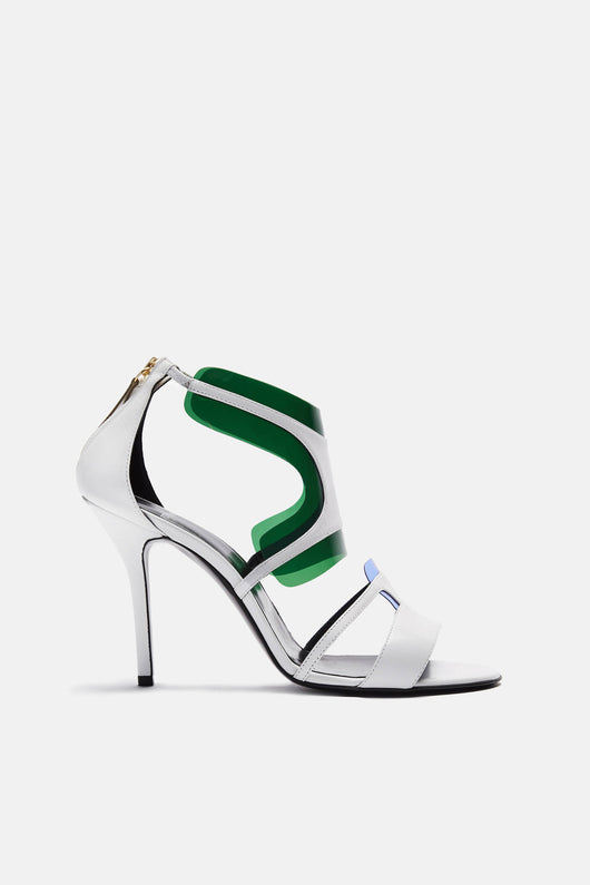 Shades Sandal - White/Blue/Green