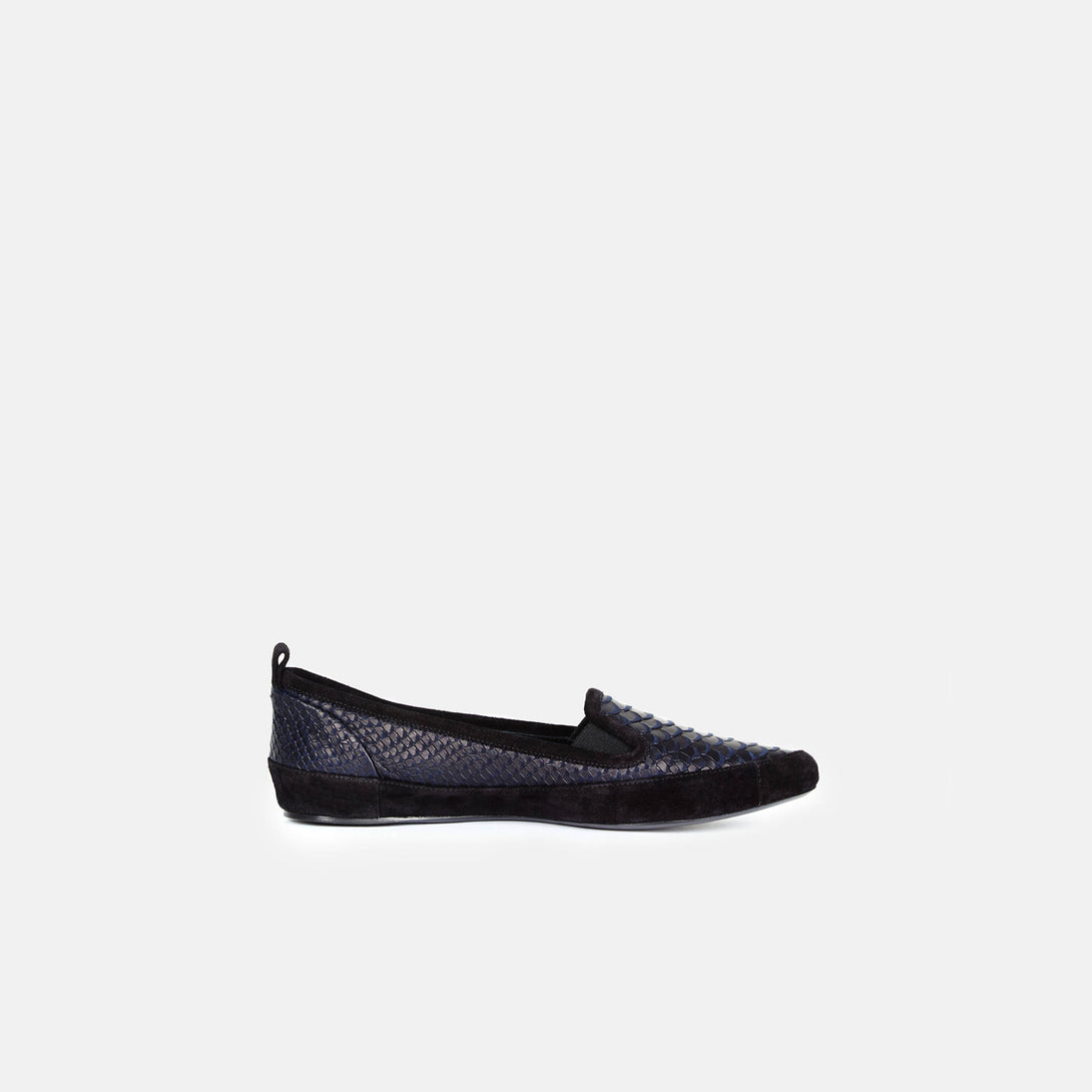 Slip-On - Black/Navy