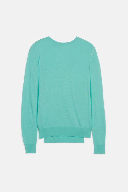 Superfine Merino L/S Crewneck Sweater