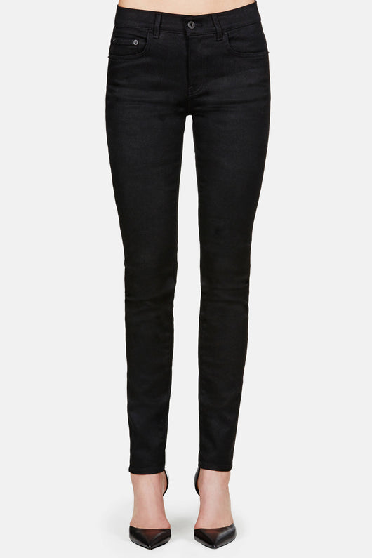 PS-J2 High Waist Skinny Jean - Black