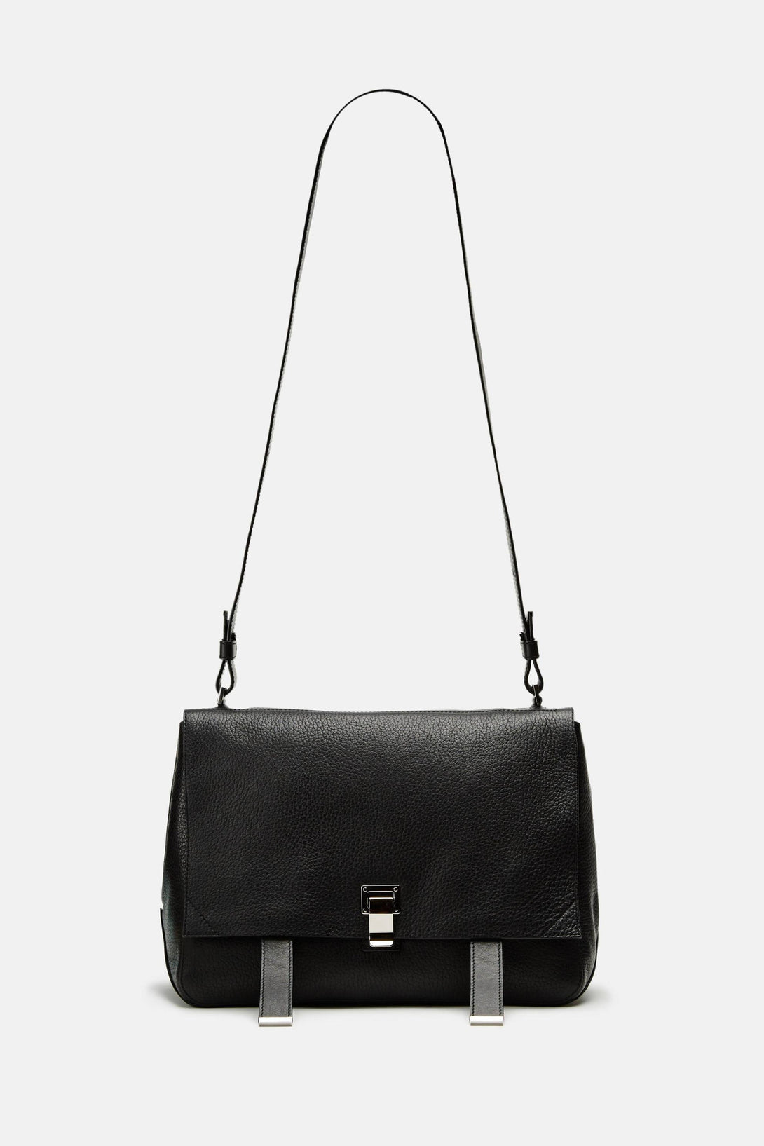 PS Large Shoulder Courier - Black