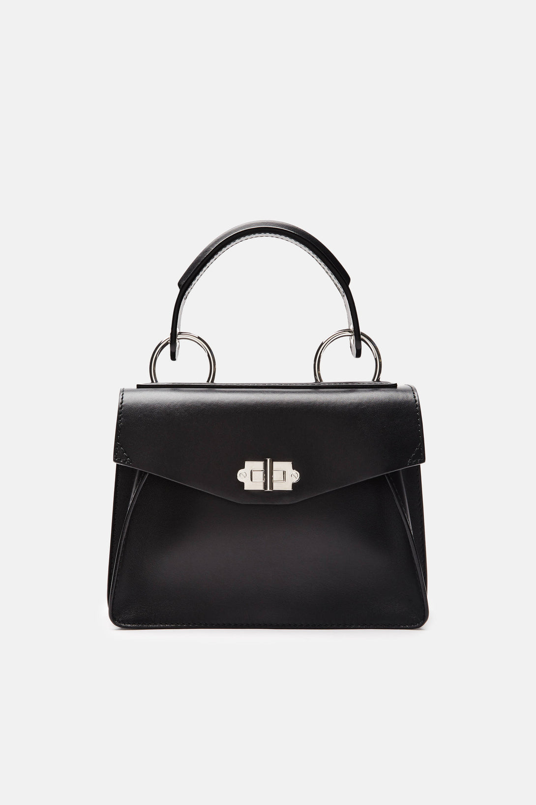 Small Hava Top Handle Bag - Black
