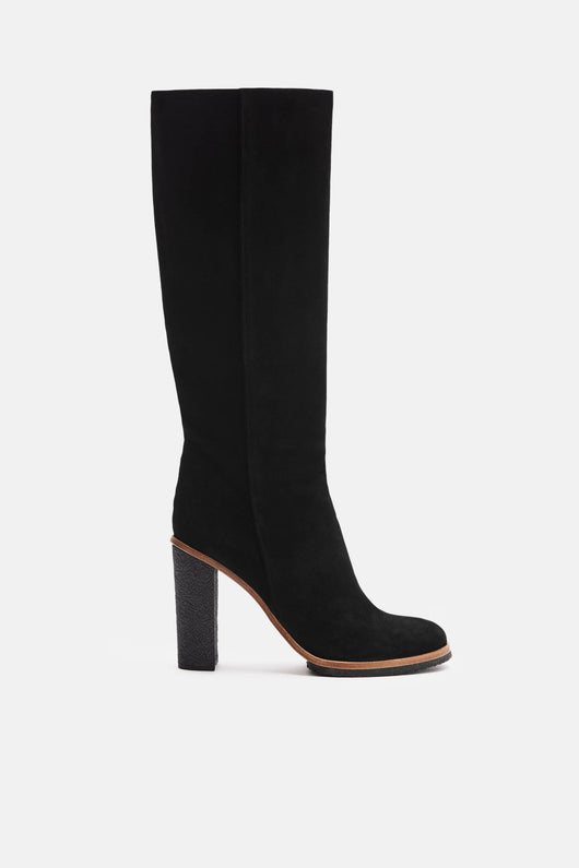 Knee Boot - Black