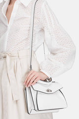 Small Hava Top Handle Bag - Optic White