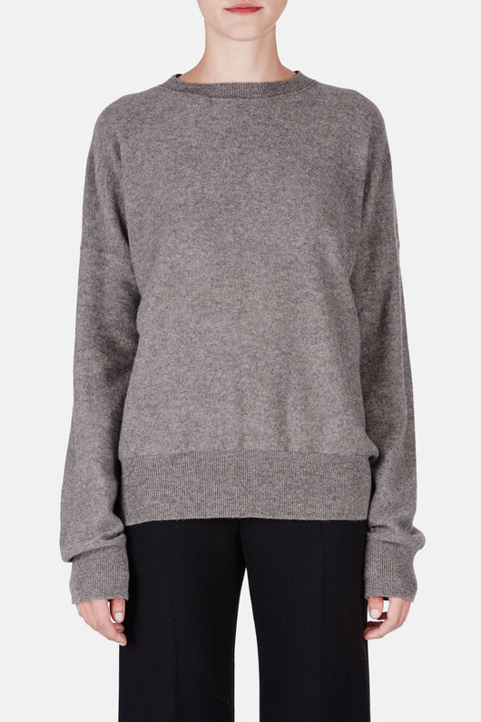Sweater 16 Exposed Seam Crewneck - Slate