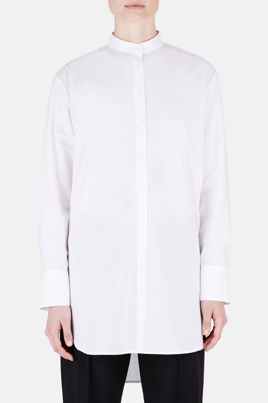 Tunic 05 3/4 Placket Tunic - White