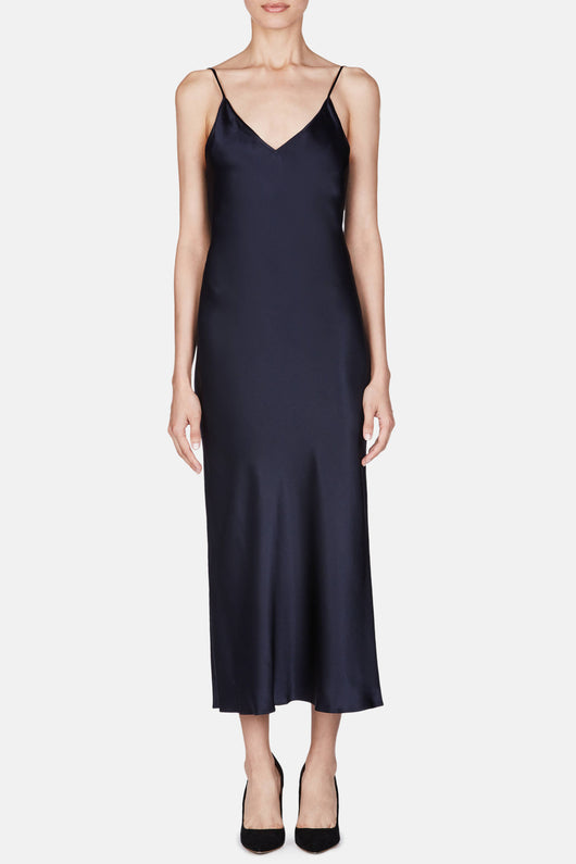 Dress 15 Bias Slip Dress - Navy