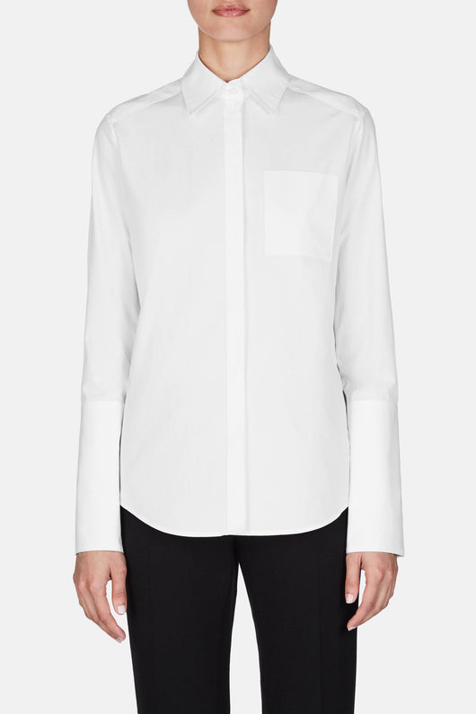 Shirt 01 Medium Body Dress Shirt - White
