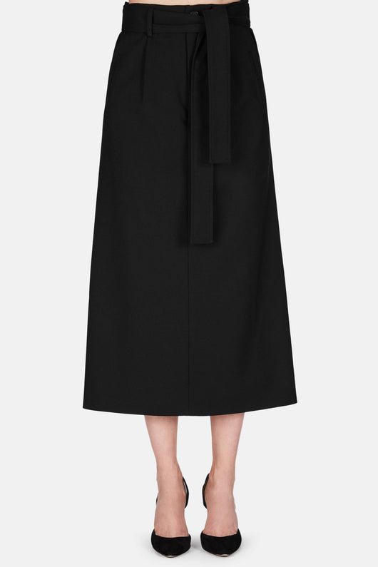 Skirt 24 Convertible Tailored Skirt -  Jet Black