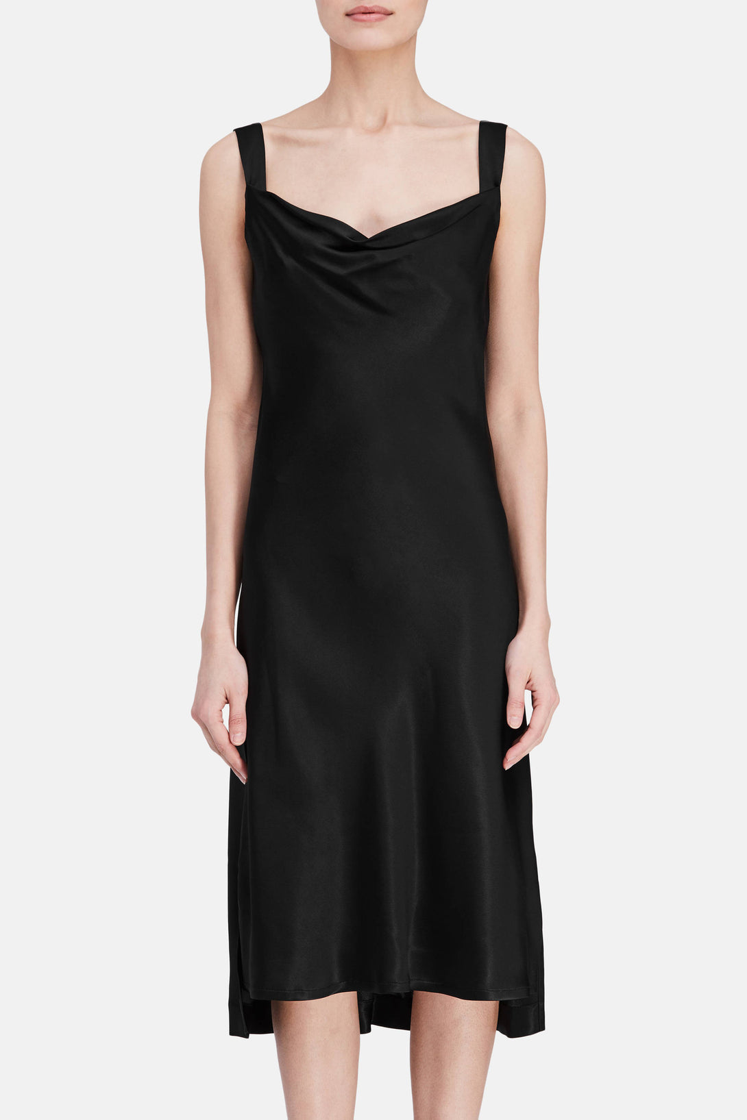 Dress 51 New Draped Slip - Onyx