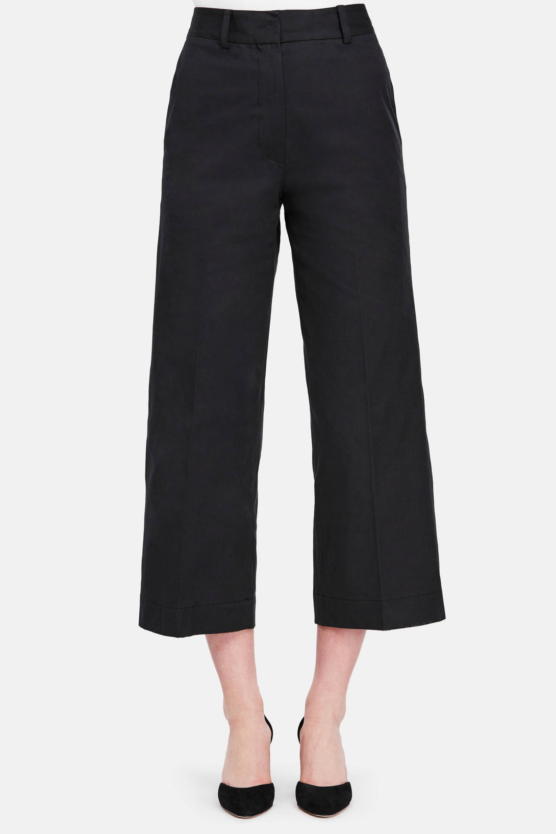Trouser 35 High Waisted Trouser - Black