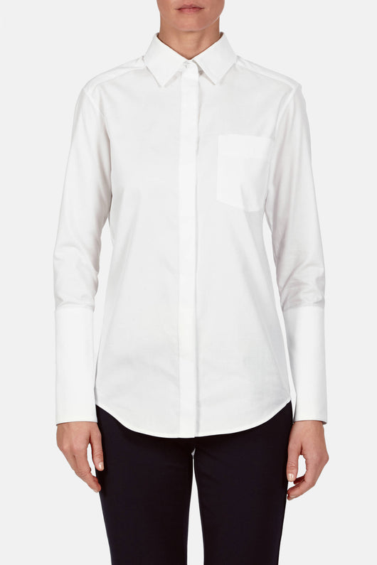 Shirt 01, Shirting - White