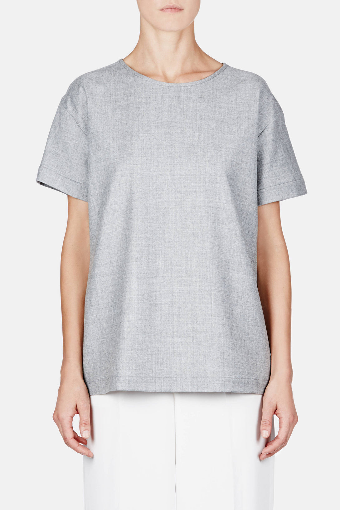 T-Shirt 03 Oversize T - Heathered Grey