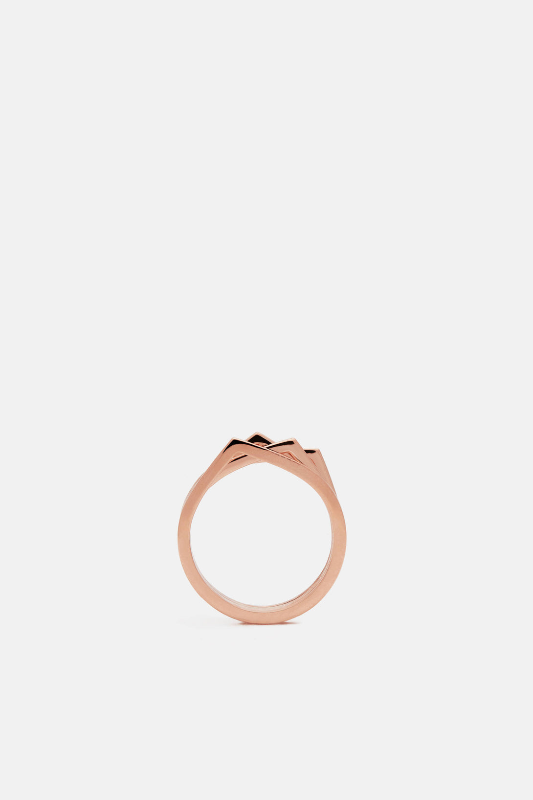 products ring leah gold alexandra fling pink