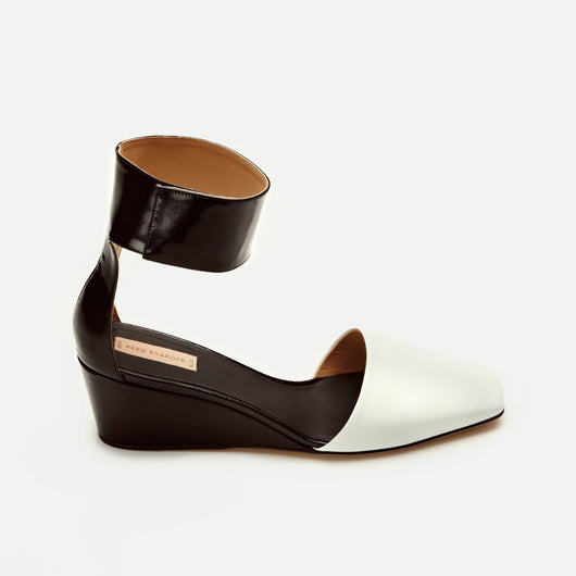 Patent Sabot Ankle Wrap Wedge