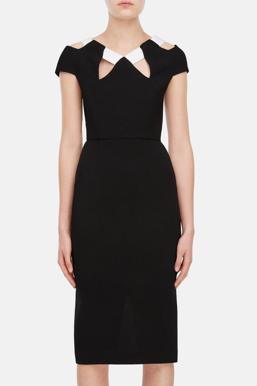 Atkinson Dress - Black/White