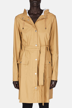 Curve Jacket Raincoat - Khaki