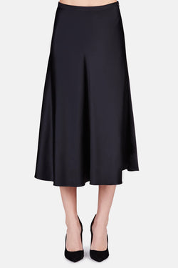 Skirt 08 Flared Skirt - Black