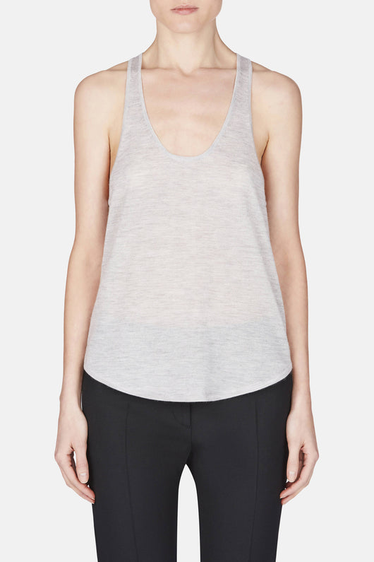 Cashmere Tank - Heather