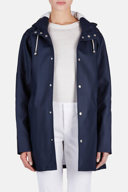 Arholma Raincoat - Navy