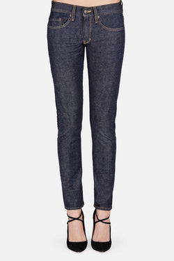 Loose Skinny Jeans - Selvedge Rinse