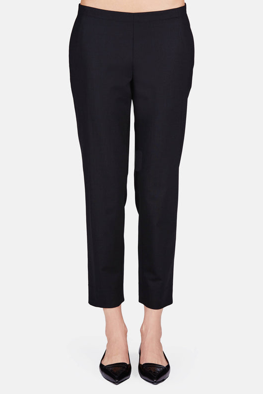Classic Pull-On Trouser - Black