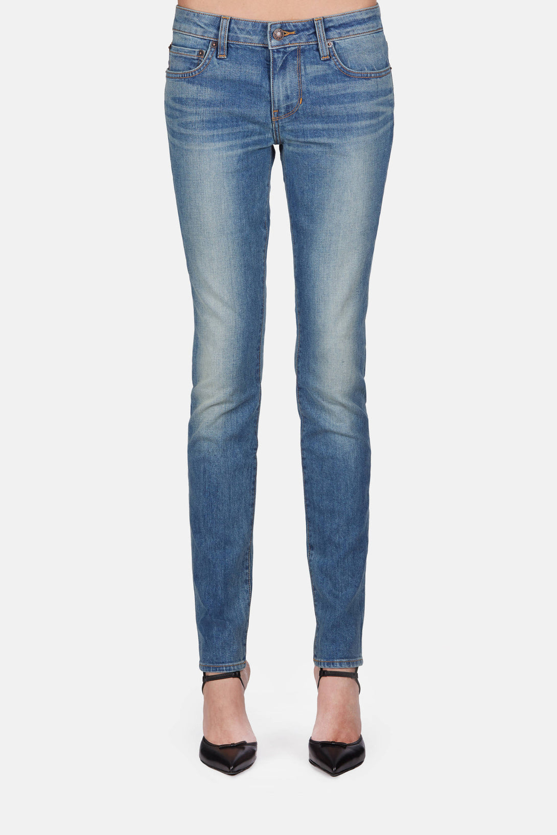 Skinny Jeans - Thrift Store Blue