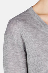Elbow Perfect V - Heather Grey