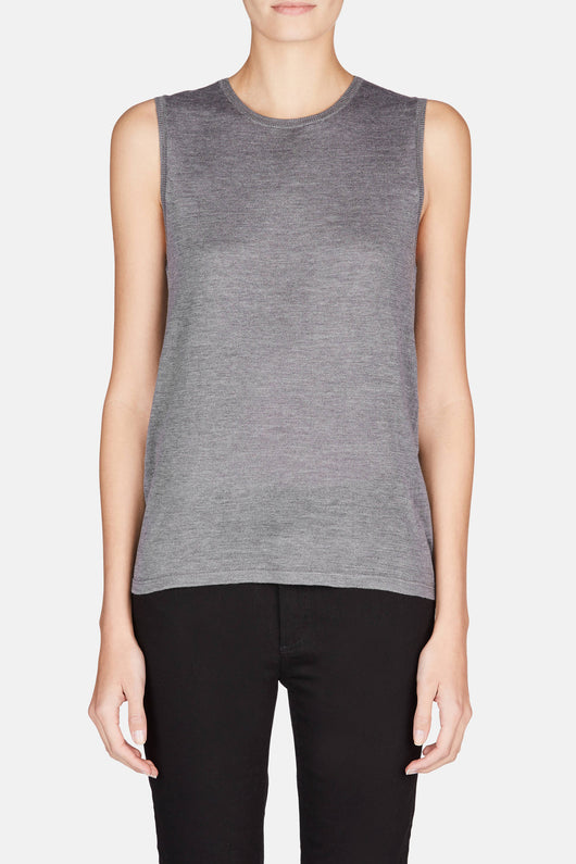 Muscle Tank - Heather Grey