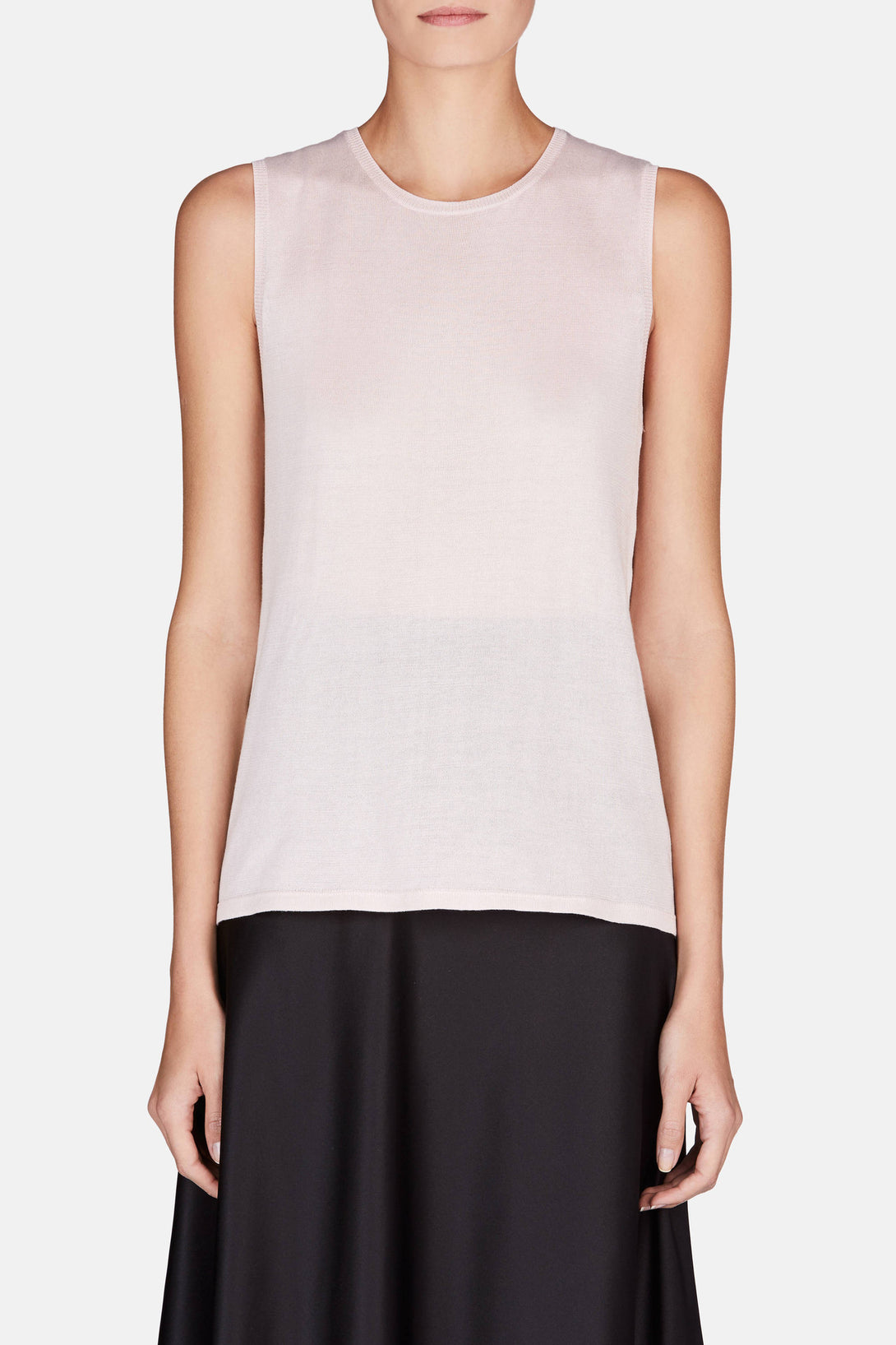 Muscle Tank - Pale Pink