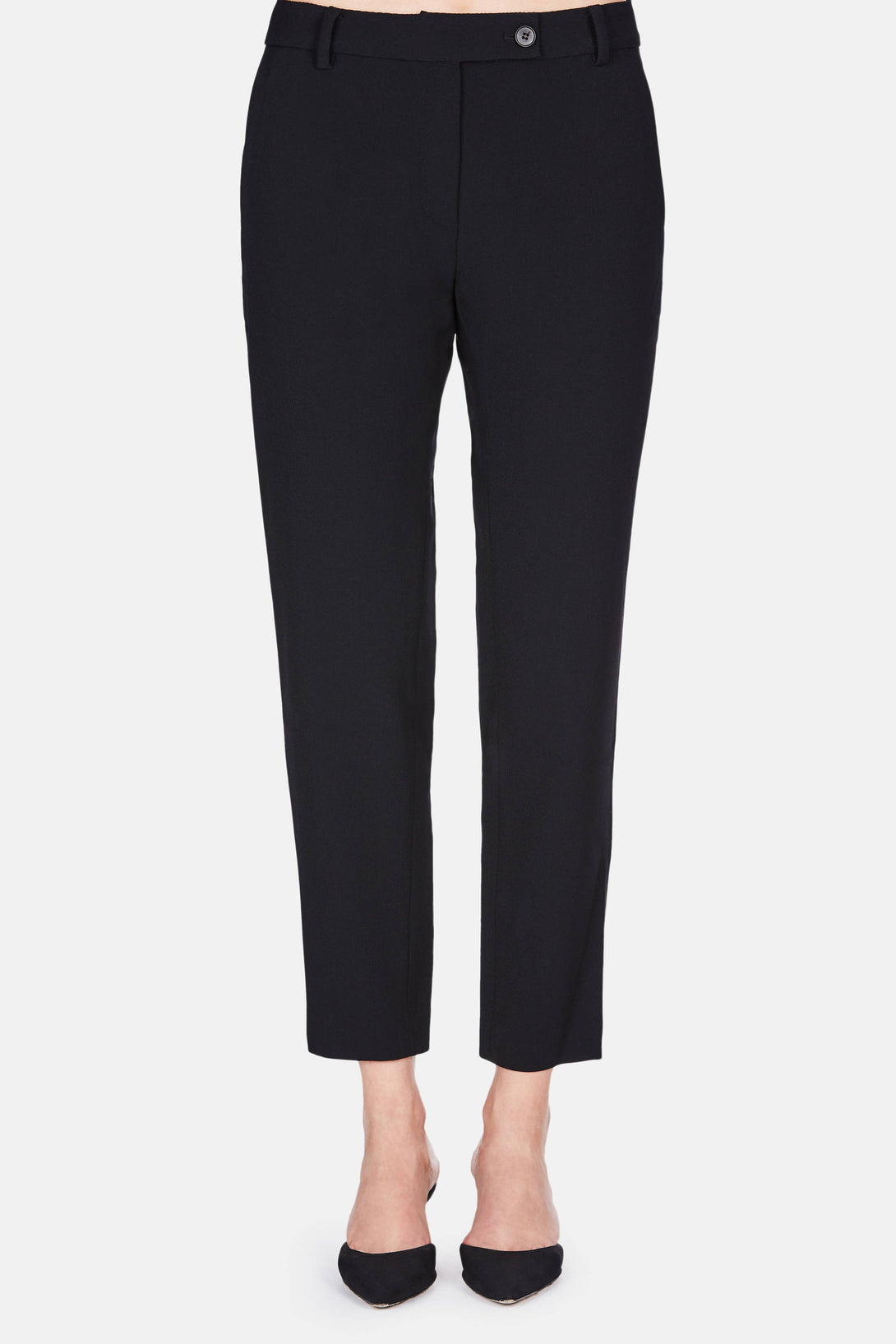 Cropped Trouser - Navy