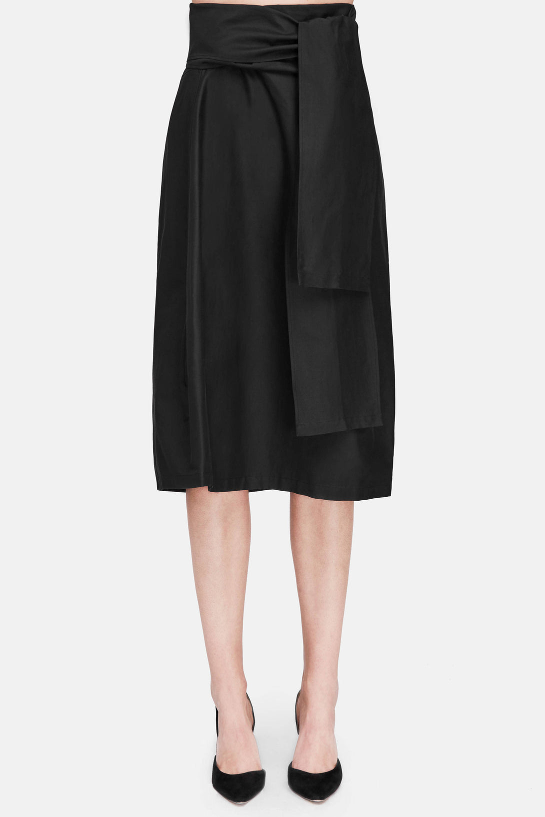 Sidi Wrap Skirt - Black