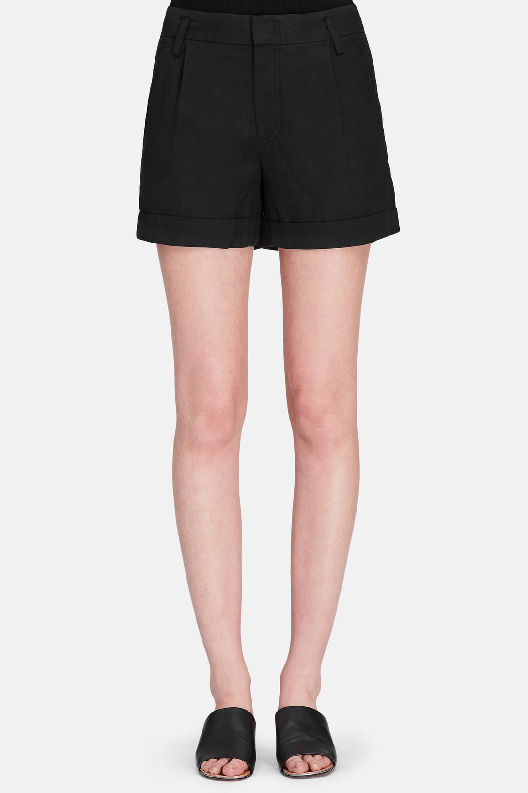 Slouchy Short - Black