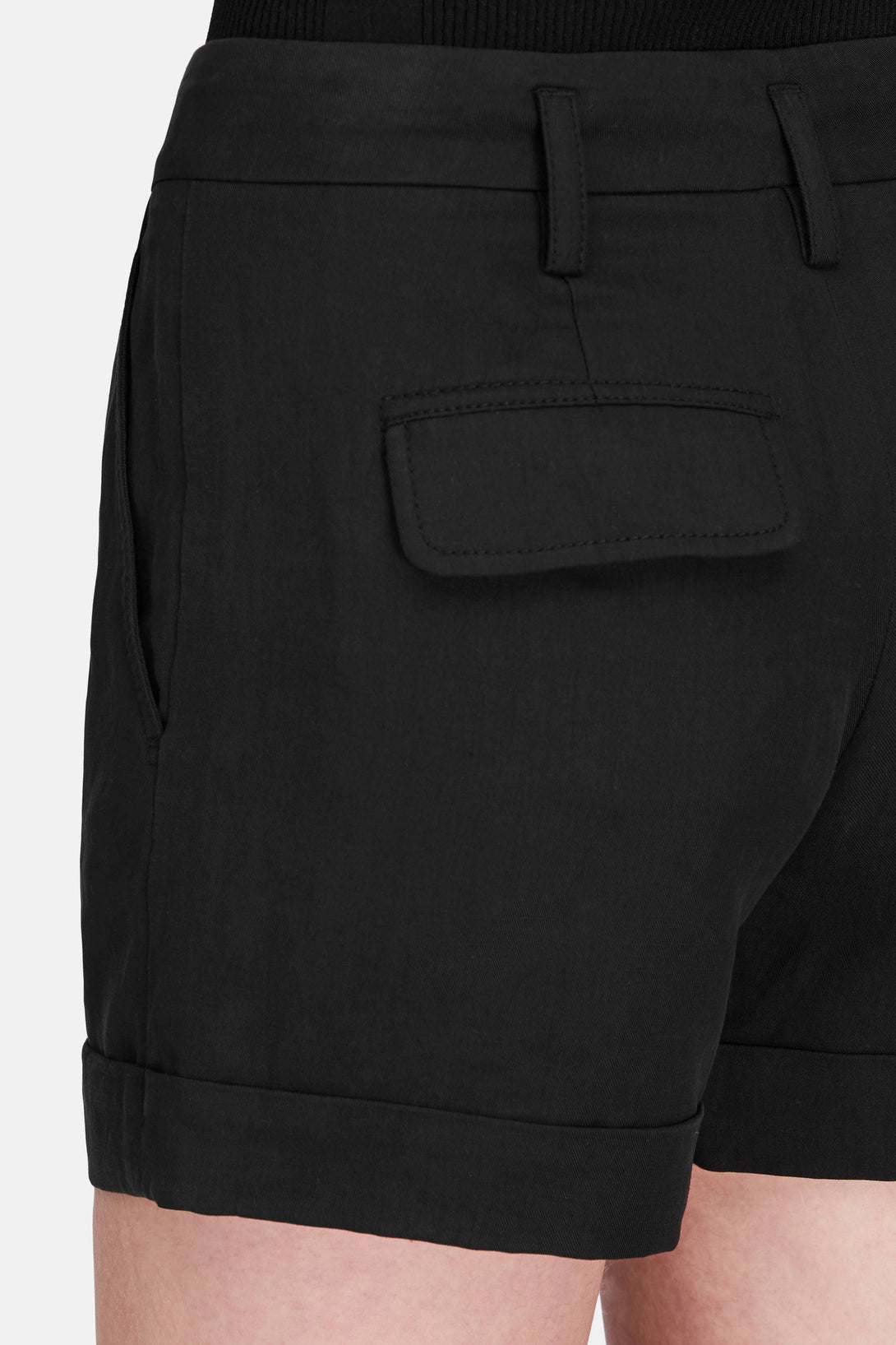 Slouchy Short - Black – The Line