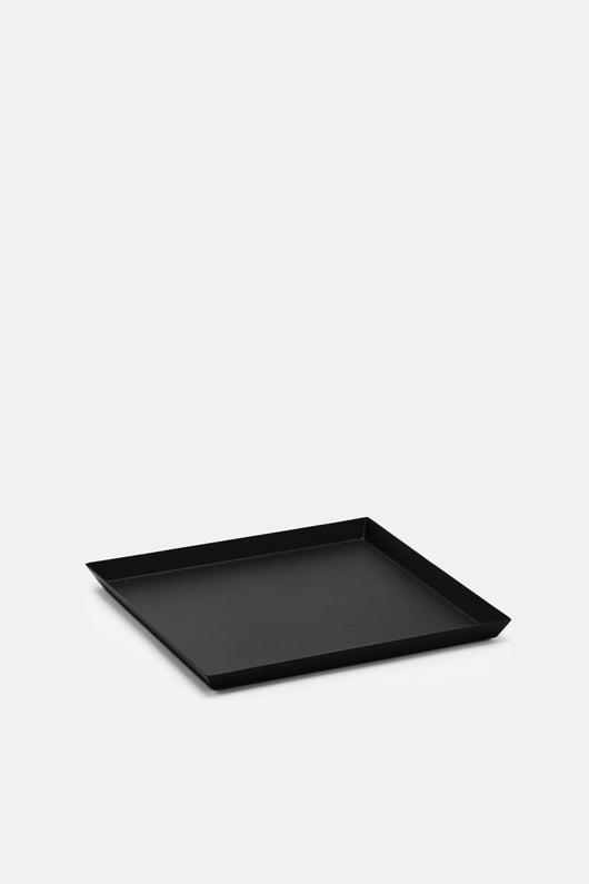 Square Matte Black Tray