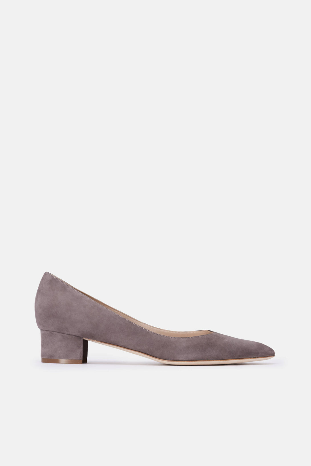 Listony Pump - Grey Suede