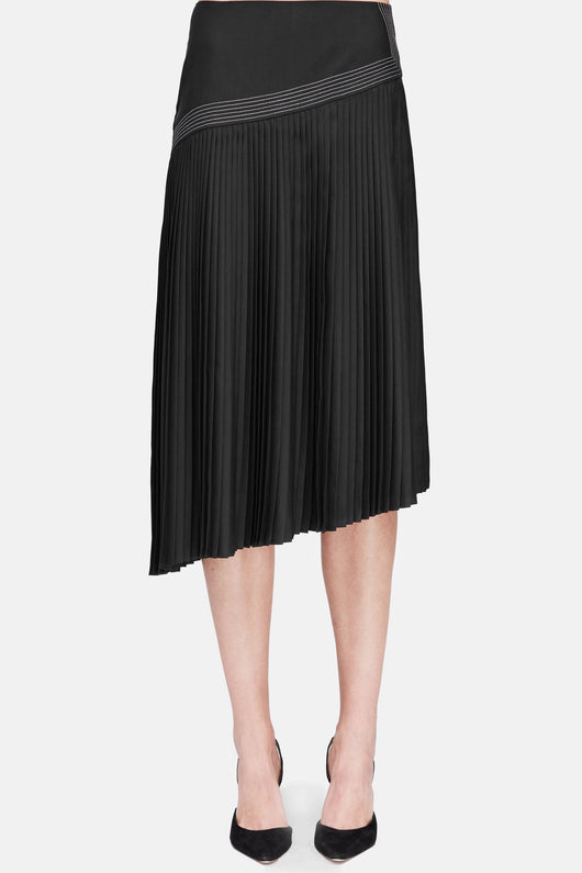 Suri Pleated Skirt - Black