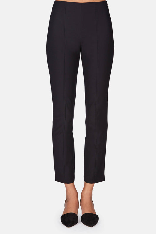 Tech Suiting Fitted Pants - Black