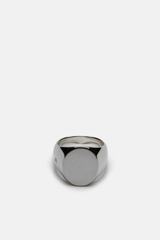 Oval Ring, Polished