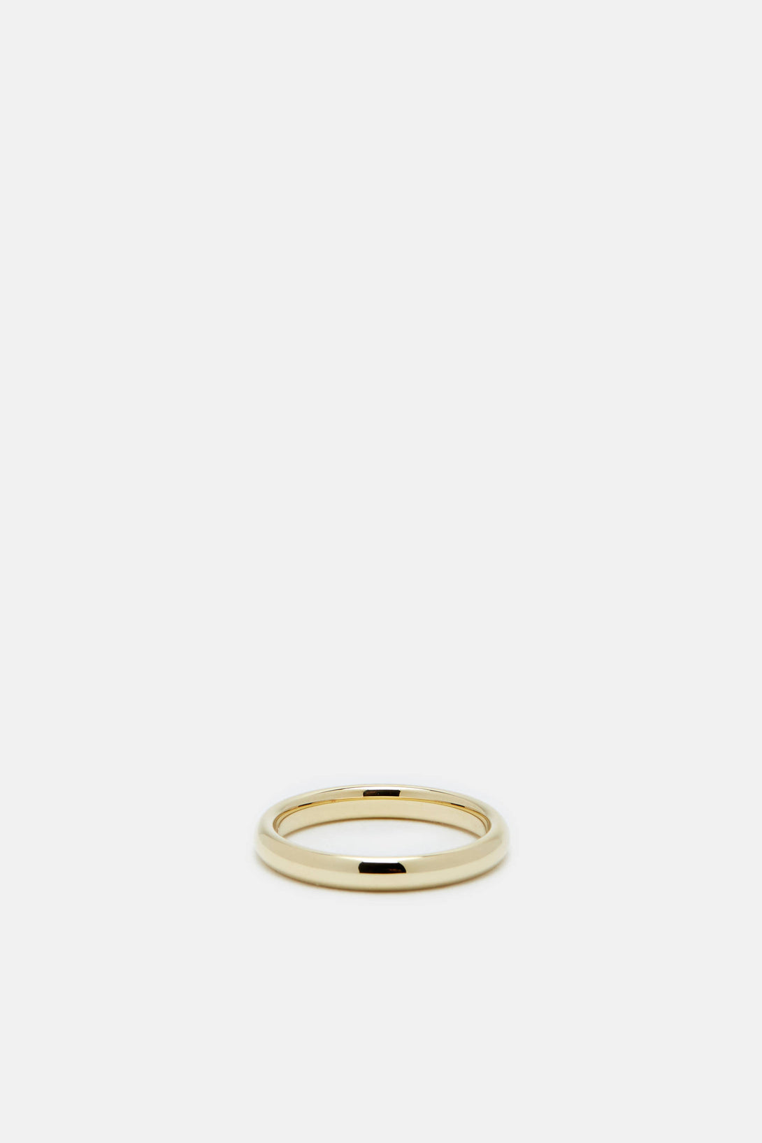 Classic Slim Band, 9K Polished Gold