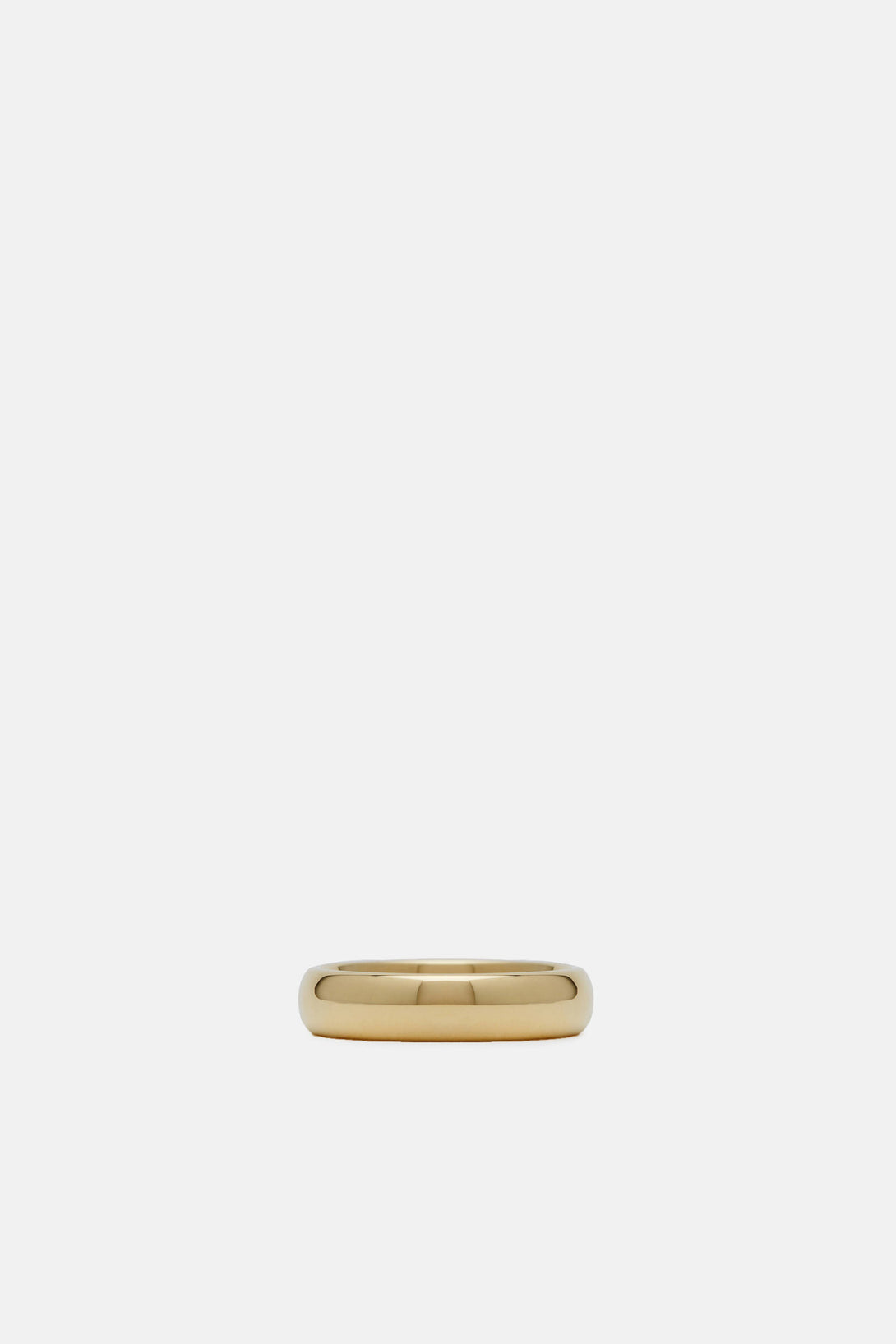 Classic Medium Band, 9K Polished Gold